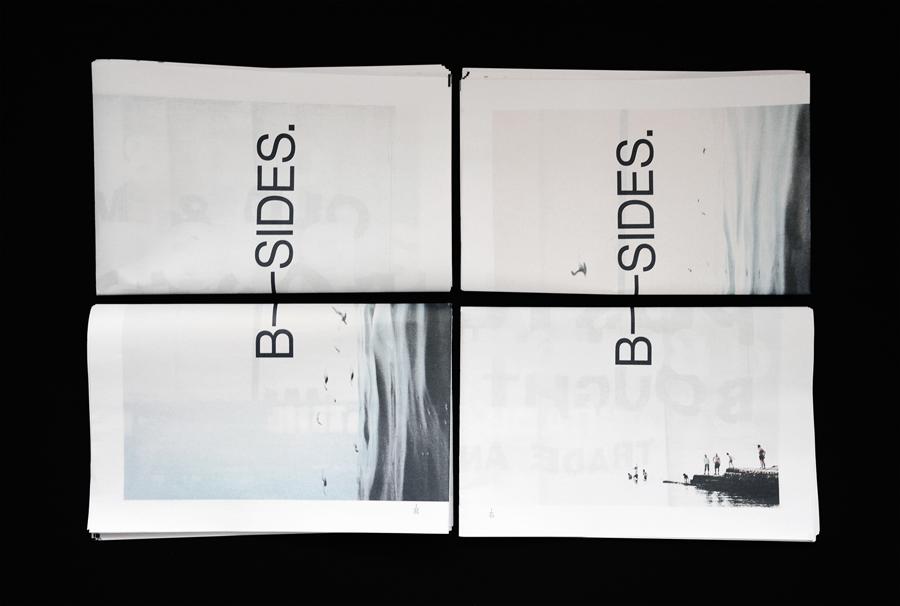 B-Sides digital tabloid explores the visual language of Brighton through the eyes of graphic designer Ian Caulkett