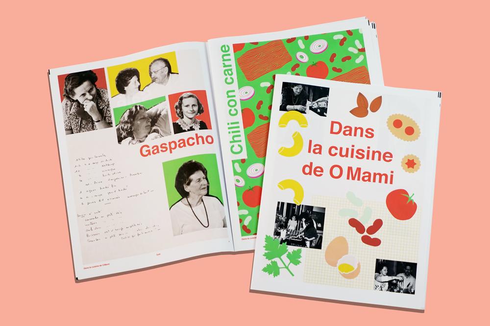 Dans la Cuisine de o Mami foodie newspaper printed by Newspaper Club