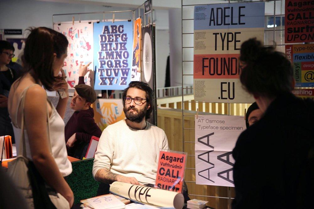 Matthieu Salvaggio of Adele Type Foundry