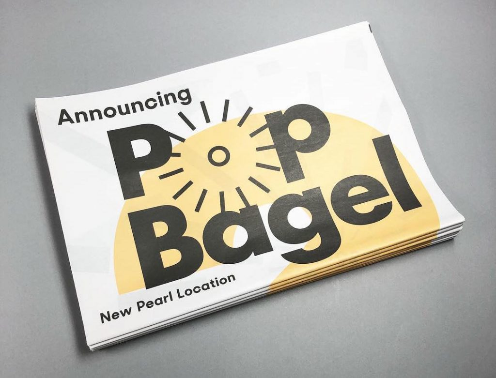 Pop Bagel newspaper