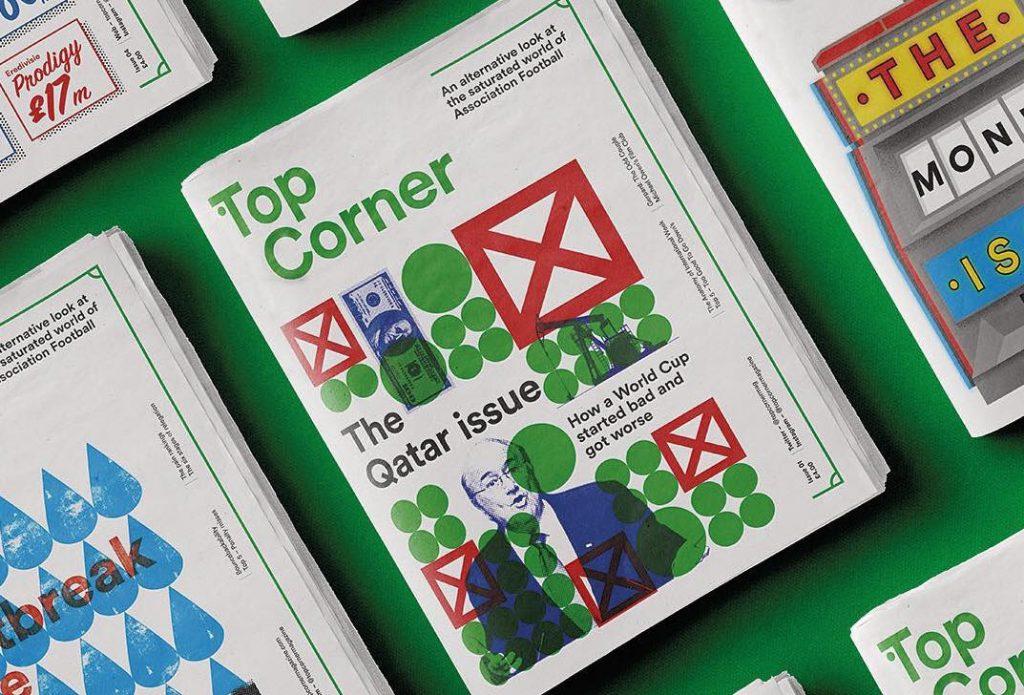 Top Corner football zine newspaper