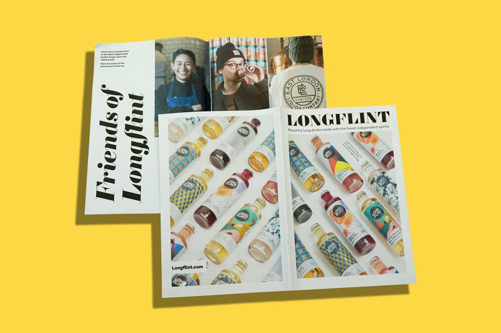 Longflint newspaper catalogue printed by Newspaper Club