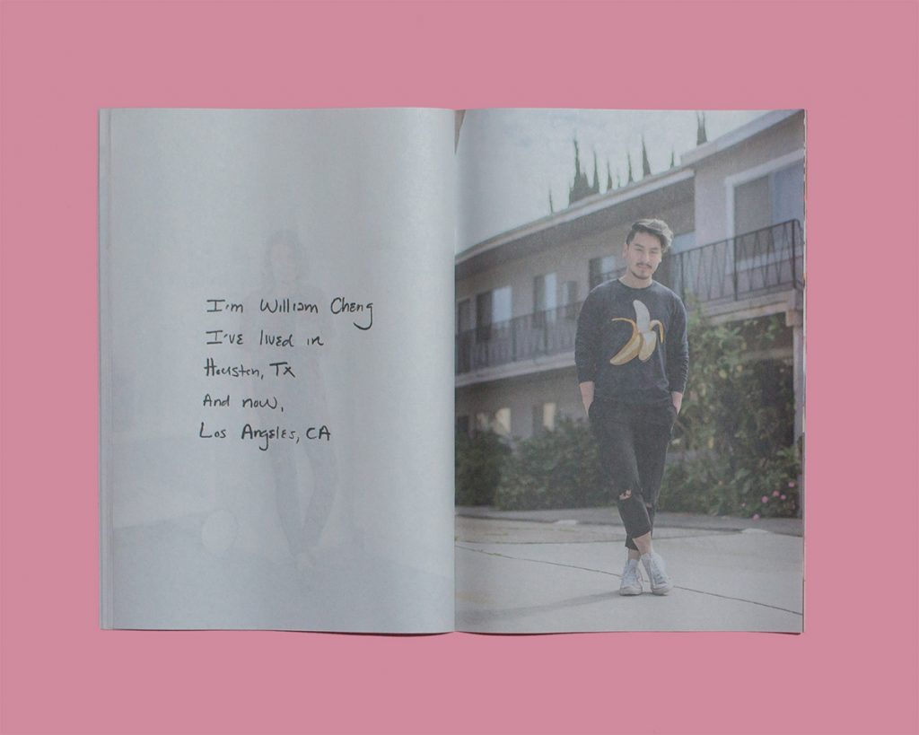 TranspLAnts documents the people photographerJason Travis has met his moving to Los Angeles in 2016. The mini zine explores how living in different places has shaped their existence.