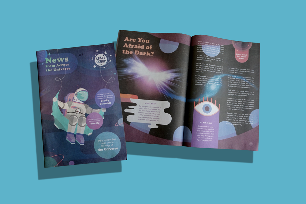 Space Scoop: Bringing news from across the Universe to children around the world. Print your own newspaper with Newspaper Club