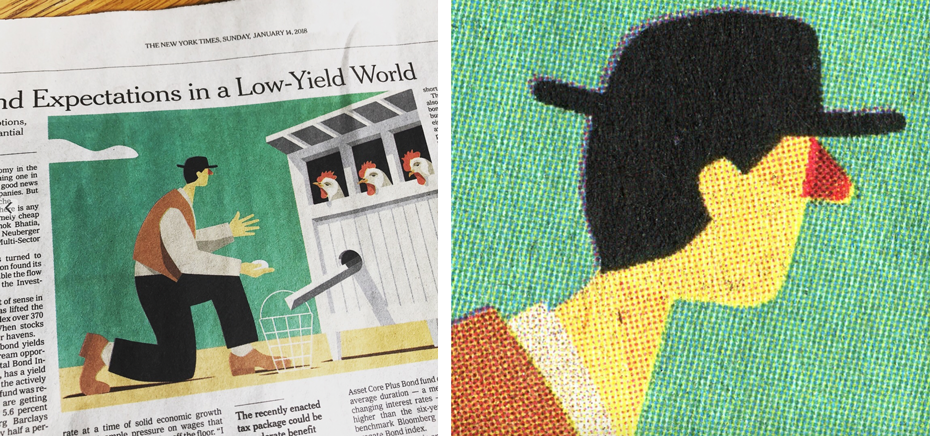 Newspaper Club interview with illustrator Craig Frazier