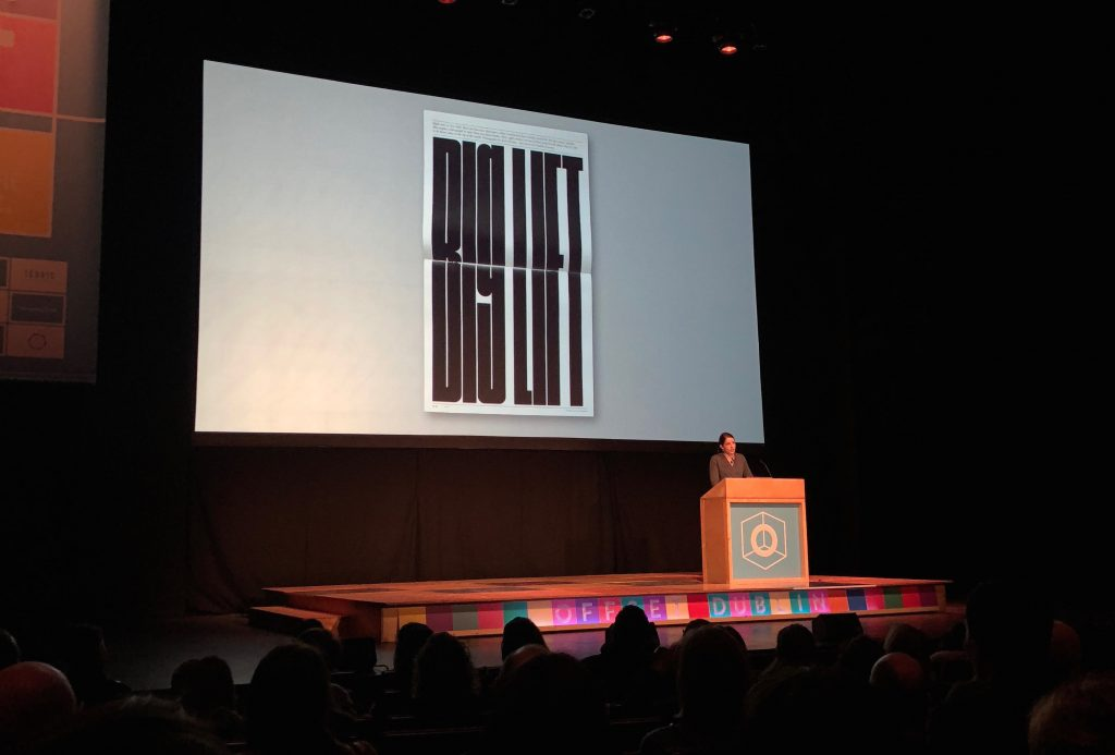 gail bichler of the new york times magazine at offset dublin 2018
