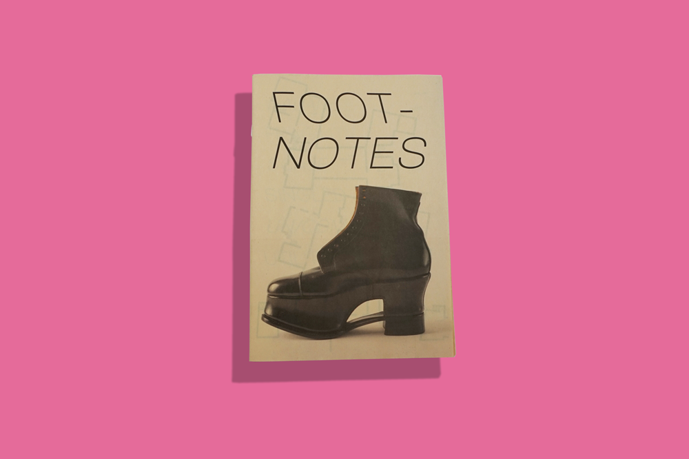 Footnotes at Sutton House exhibition catalogue newspaper printed by Newspaper Club