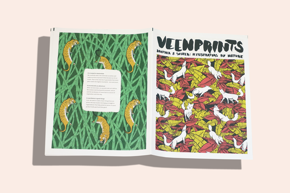 VeenPrints illustrated newspaper