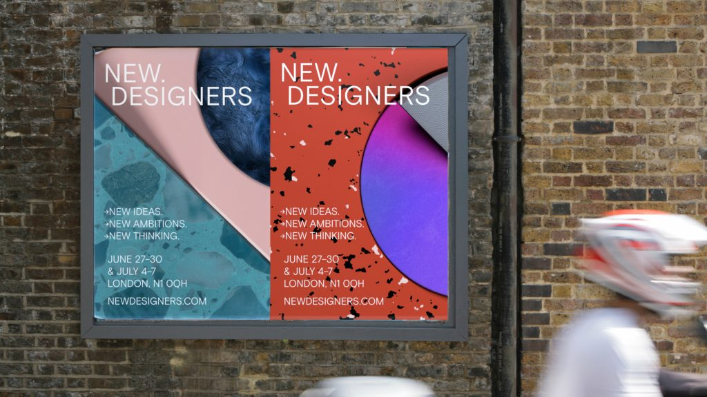 New Designers rebrand by Village Green