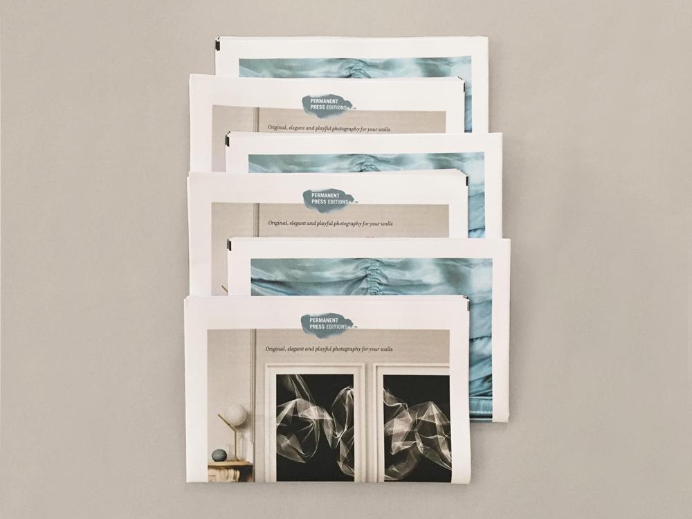 Permanent Press Editions newsprint catalogue printed by Newspaper Club