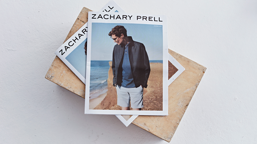 Zachary Prell lookbook newspaper. Print your own newspaper with Newspaper Club.