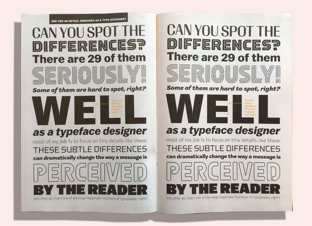 Type Supply Zine for Typographics 2018. Printed by Newspaper Club.
