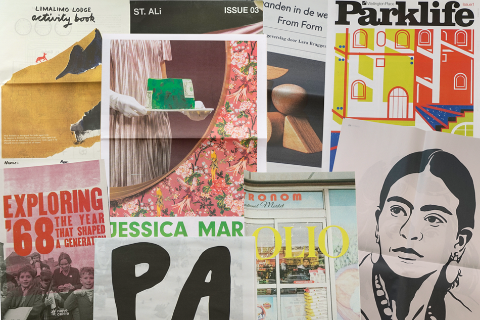 Design and print your own newspaper with Newspaper Club