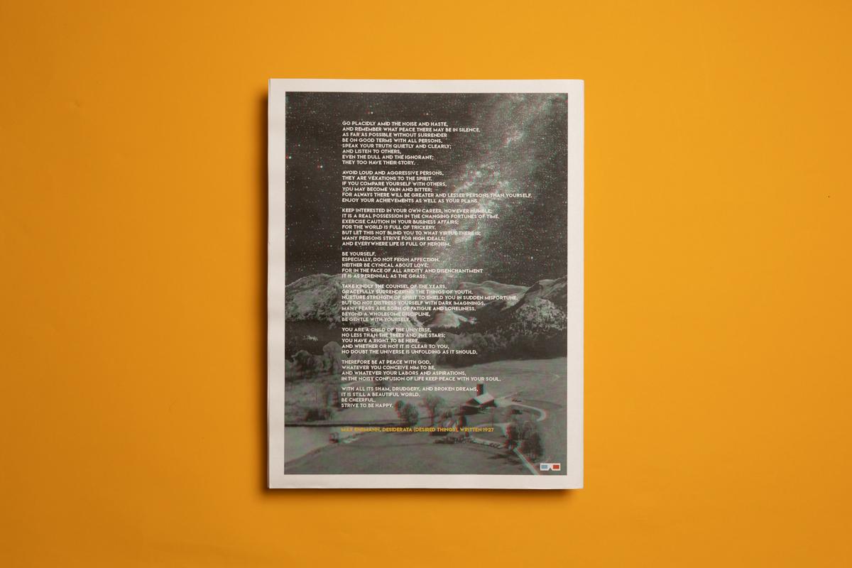 Lauren and Rajiv's wedding newspaper with 3D poem. Printed by Newspaper Club.