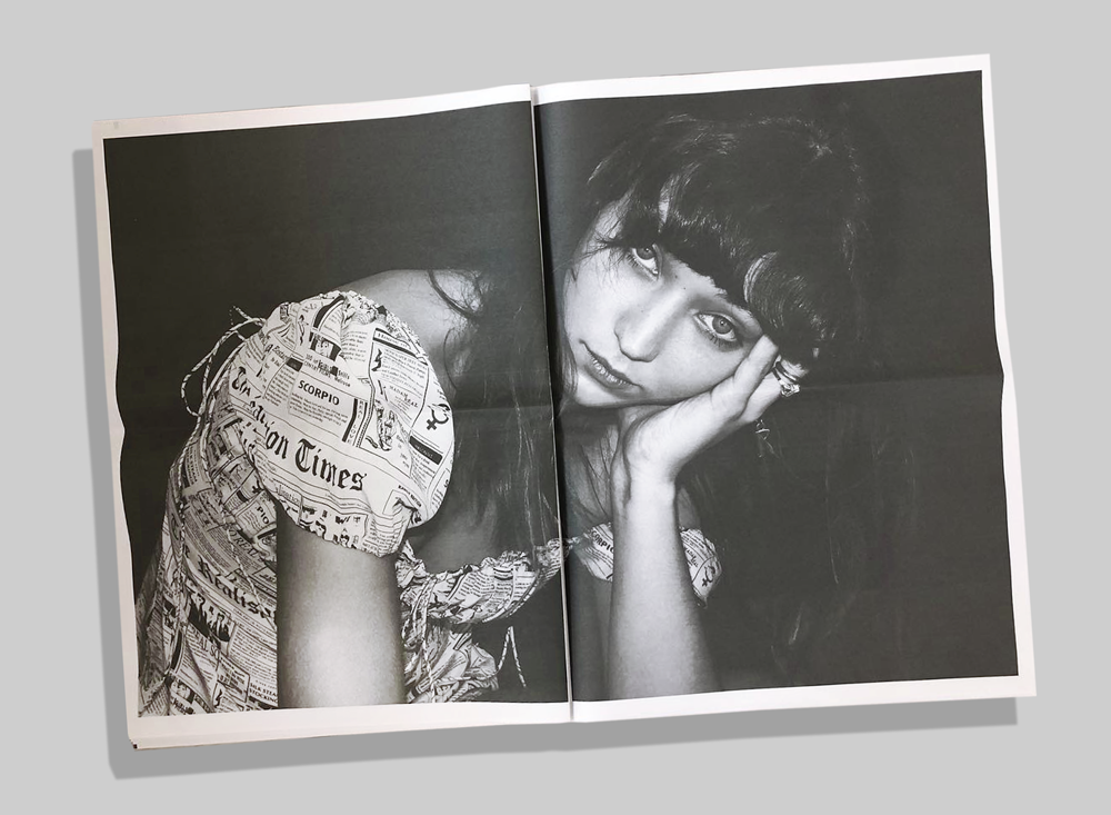 Fashion label Réalisation Par's dresses have taken over Instagram and now they're in print, too. We're particularly fond of this—very meta—spread from the lookbook, which was printed for a pop-up event in London last month.