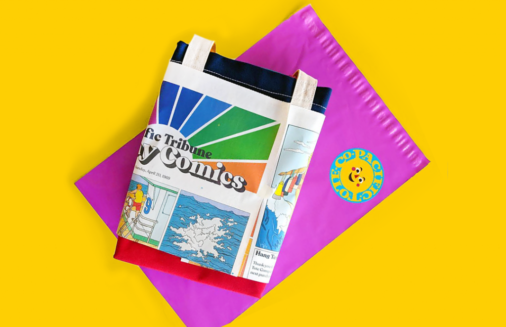 How Pacific Tote Company makes e-commerce packaging fun