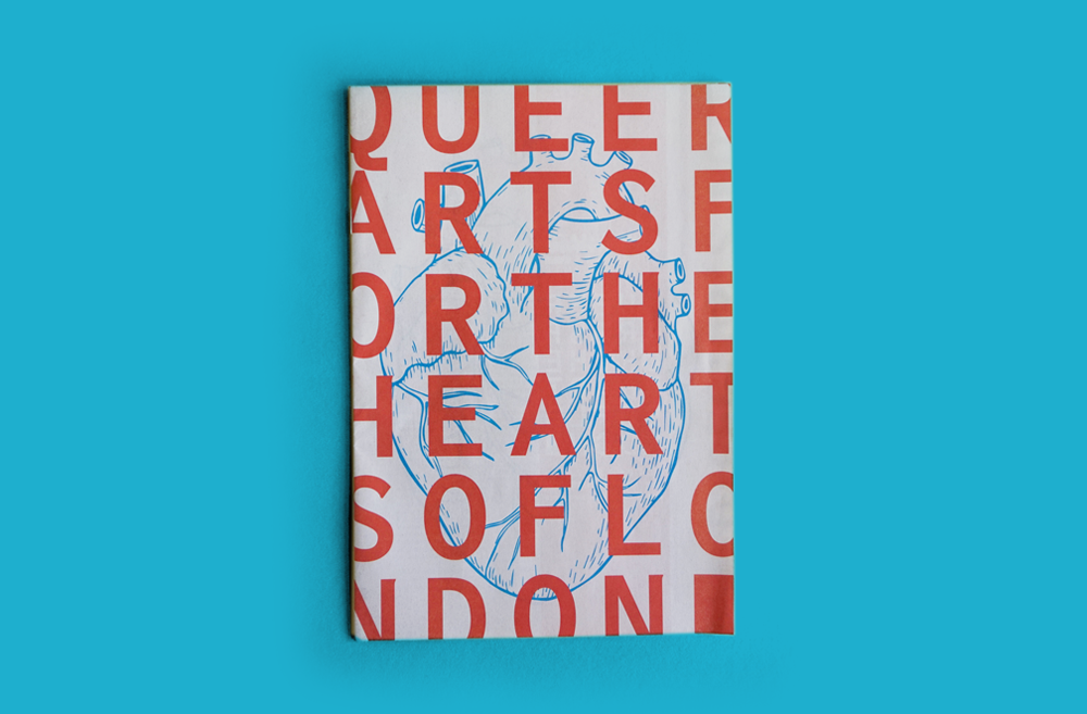 And What? Queer Arts Festival Traditional mini printed on 55gsm improved newsprint In October, the And What? Queer. Arts. Festival (www.instagram.com/andwhatfest) takes over London for the third year running. The event is a celebration of queerness through dance, digital arts, theatre, spoken word, music, and installation. There are over 100 artists in this year's line-up, and you can learn all about them in this handy mini newspaper programme (designed by Eoin Norton.( https://www.facebook.com/enortondesign/ )