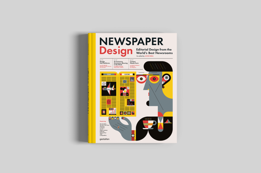 "Interview with illustrator Raymond Biesinger, who designed the cover for Gestalten's recent Newspaper Design book and thinks newsprint is ""a unique and practical way to make impressive printed material."""