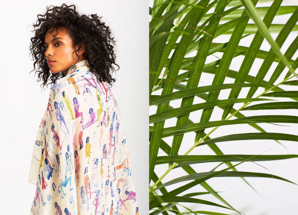 Olivia Wendel Fashion Lookbook Newspaper designed by Dafne