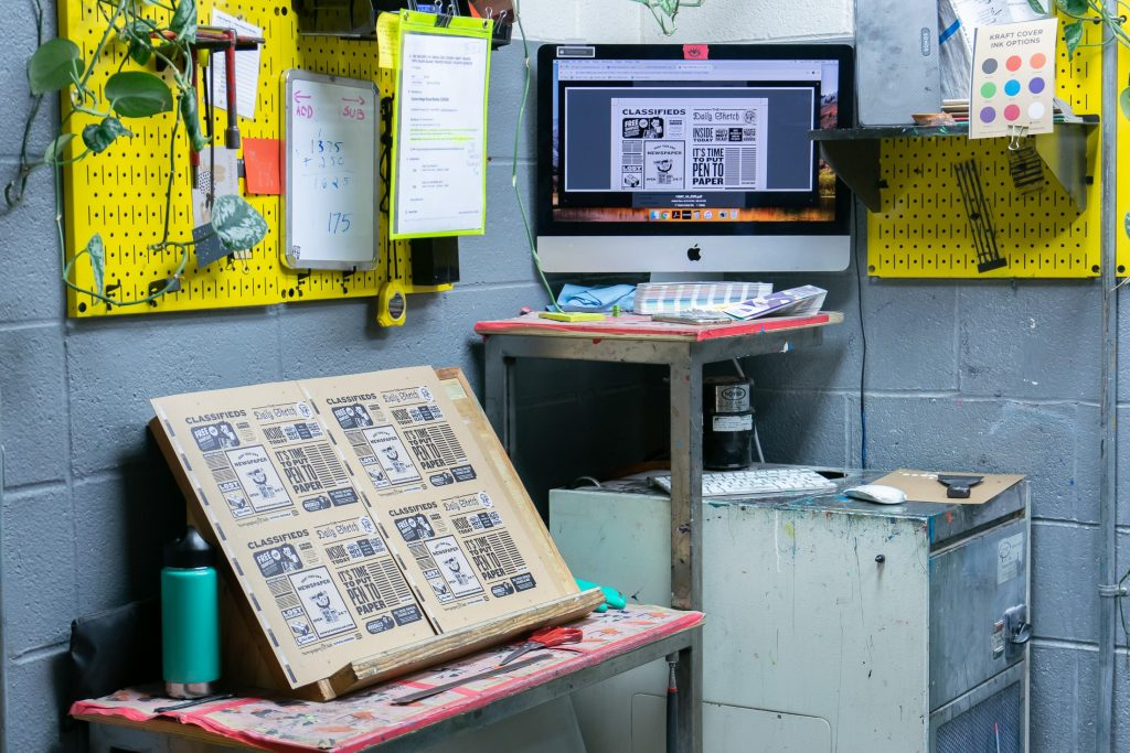 The Making of our Newspaper-Inspired Scout Books