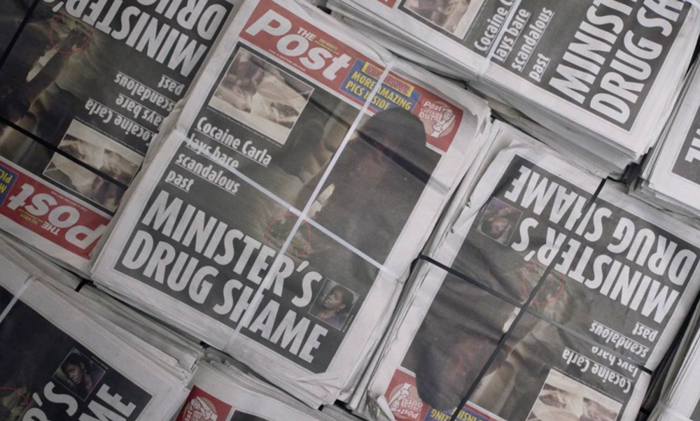 Designing prop newspapers for film and TV with Clare Winkworth of BBC's Press