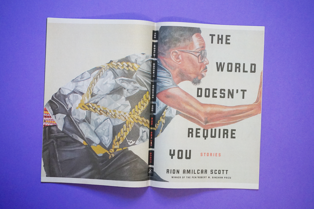 The World Doesn't Require You, an upcoming short story collection by Rion Amilcar Scott, is set in the fictional town of Cross River. Using our digital minis, publisher Liveright created The Cross River Review to transport readers to this world. Printed by Newspaper Club.