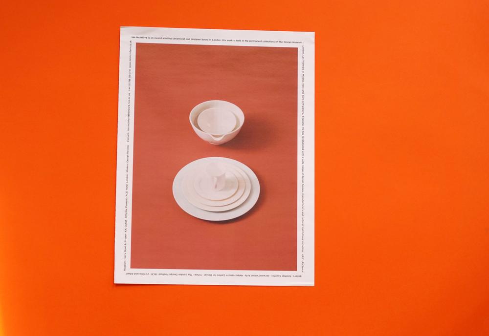 Ian Mcintryre ceramics portfolio printed by Newspaper Club