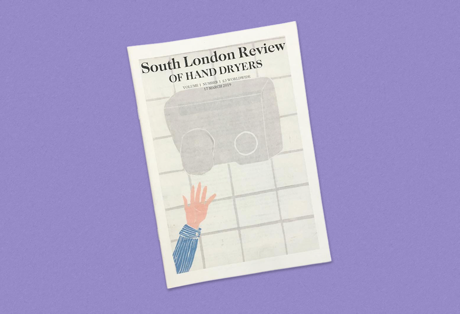 The South London Review of Hand Dryers newspaper