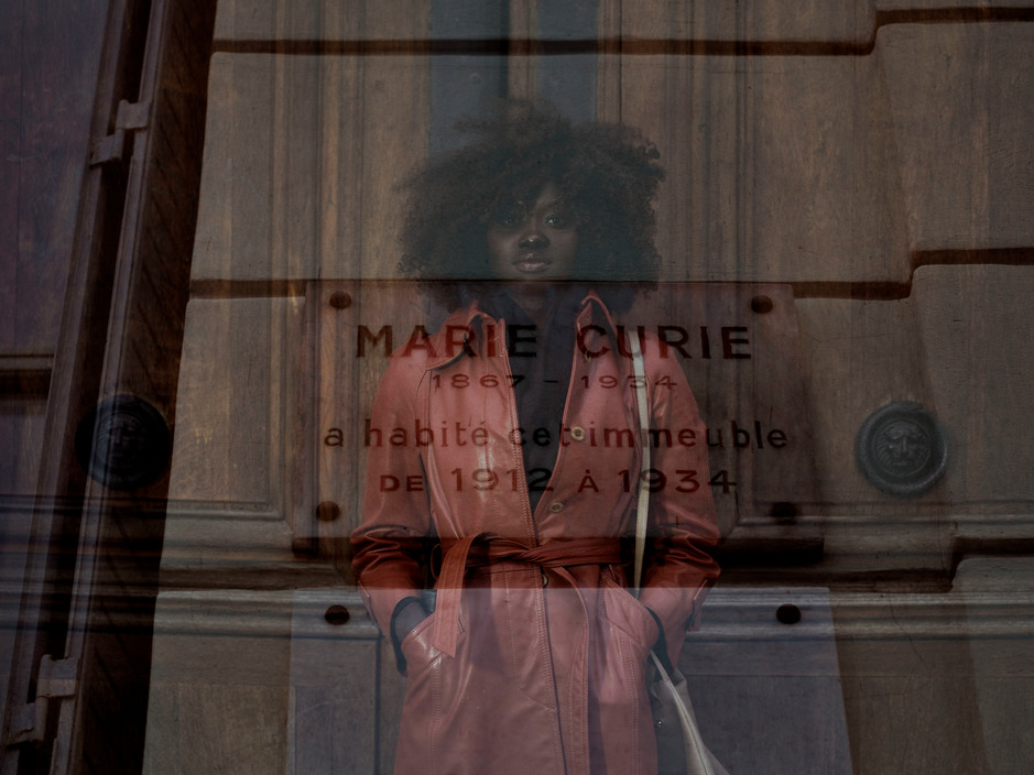 FRANCE. Paris. 2018. Anna and Marie CURIE