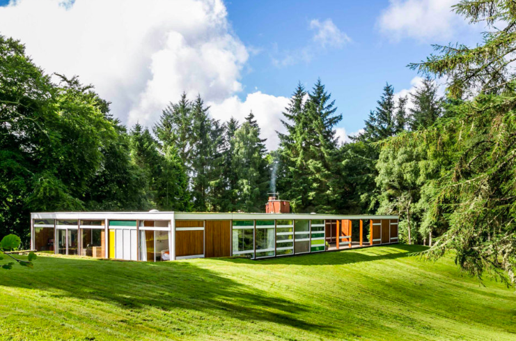 Peter Womersley's Klein House in the Scottish Borders Modern House