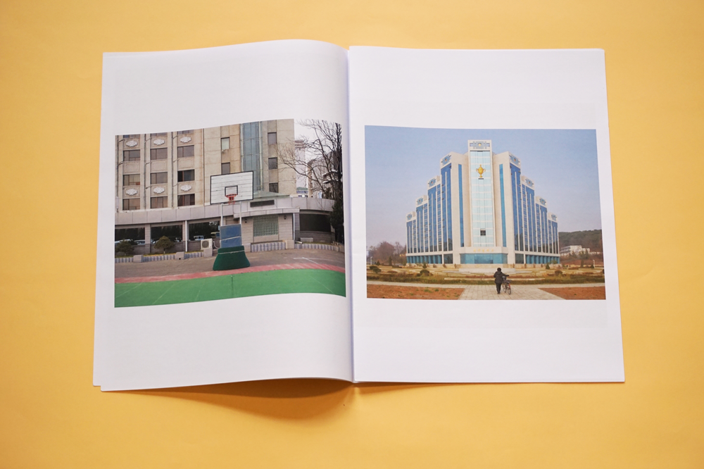 Pyongyang photography zine by Nicole Reed printed by Newspaper Club