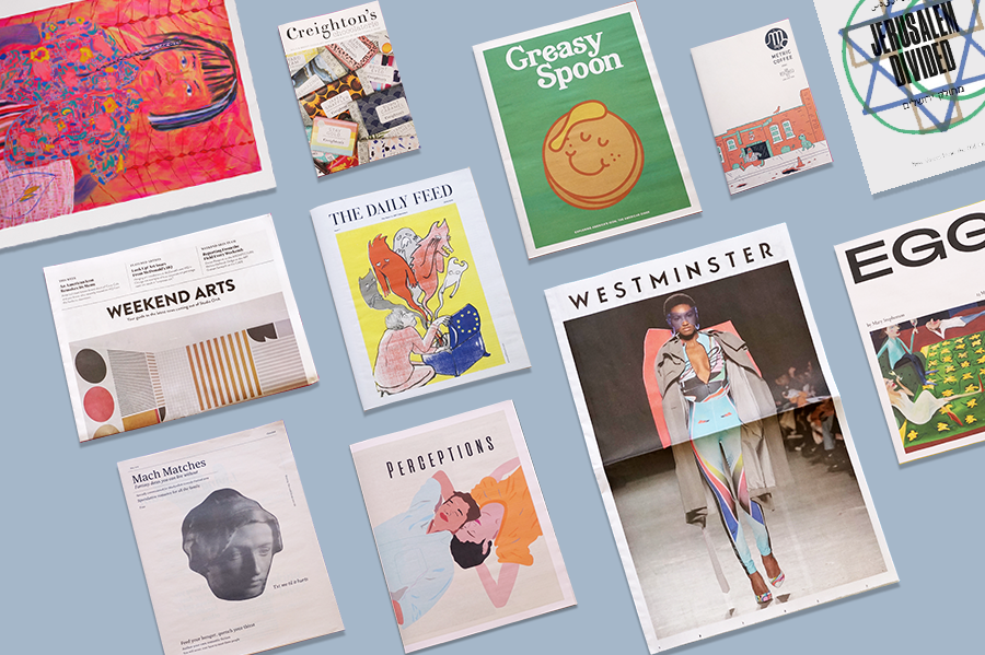 Every month, we print hundreds of exciting, creative, well-designed newspapers and put together a roundup of our favourites.