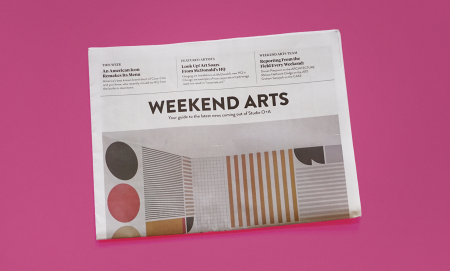 Weekend Arts newspaper