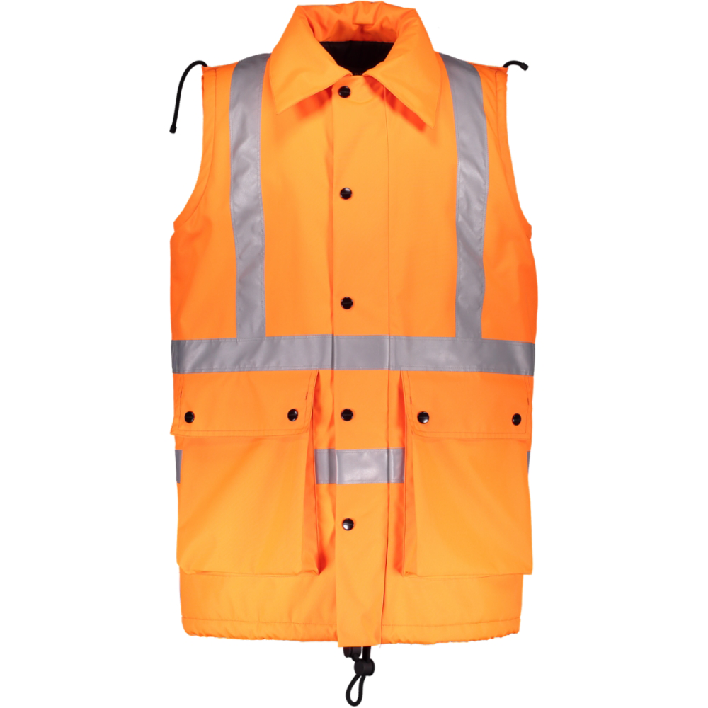 Burberry – HI-VIZ RAILWAY WORKERS SLEEVELESS JACKET - Westminster Menswear Archive