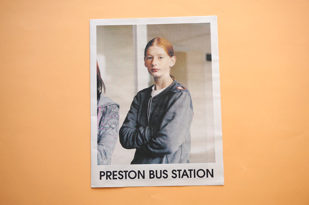 Preston Bus Station newspaper, part of the Preston Is My Paris project founded by Robert Parkinson and Adam Murray. Printed by Newspaper Club.