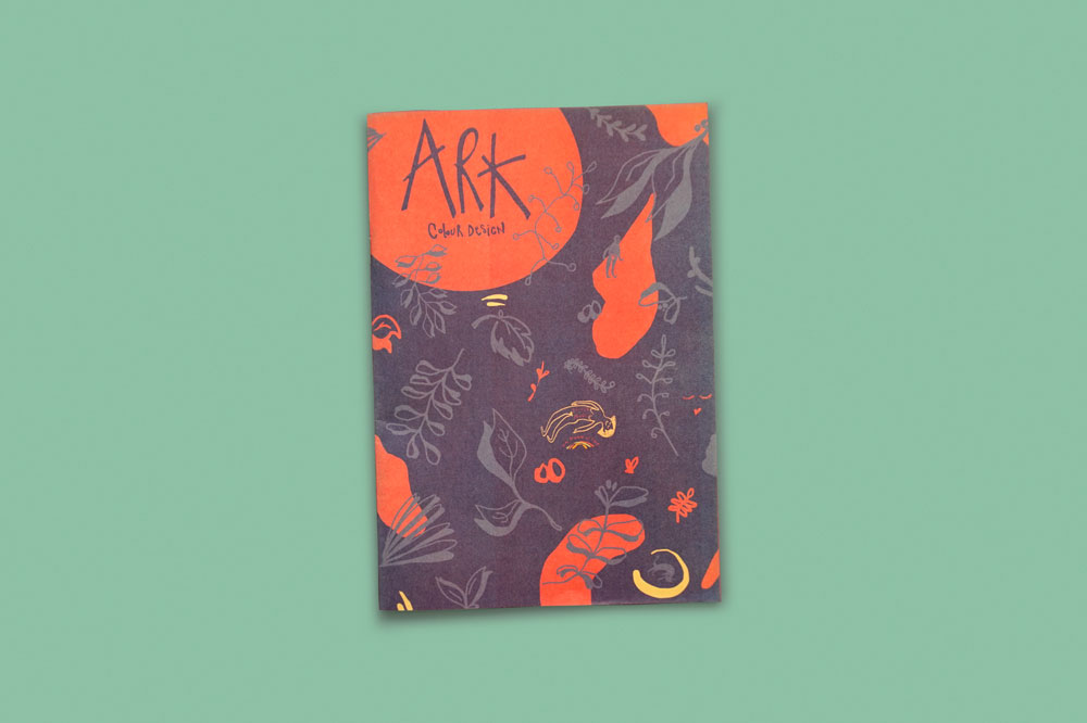 Mini newspaper for Ark Colour Design. See more newspapers we loved this month in our latest print roundup.
