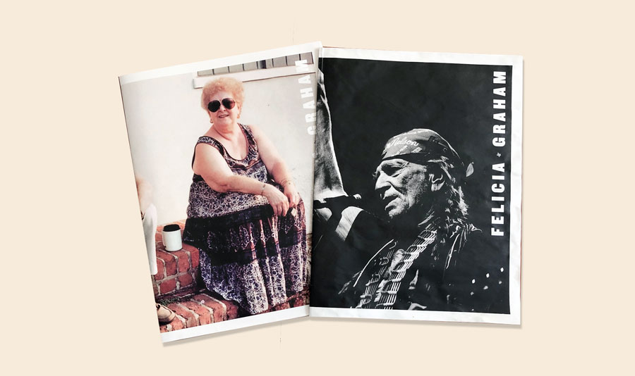 Felicia Graham photography portfolio newspaper. See more newspapers we loved this month in our latest print roundup.