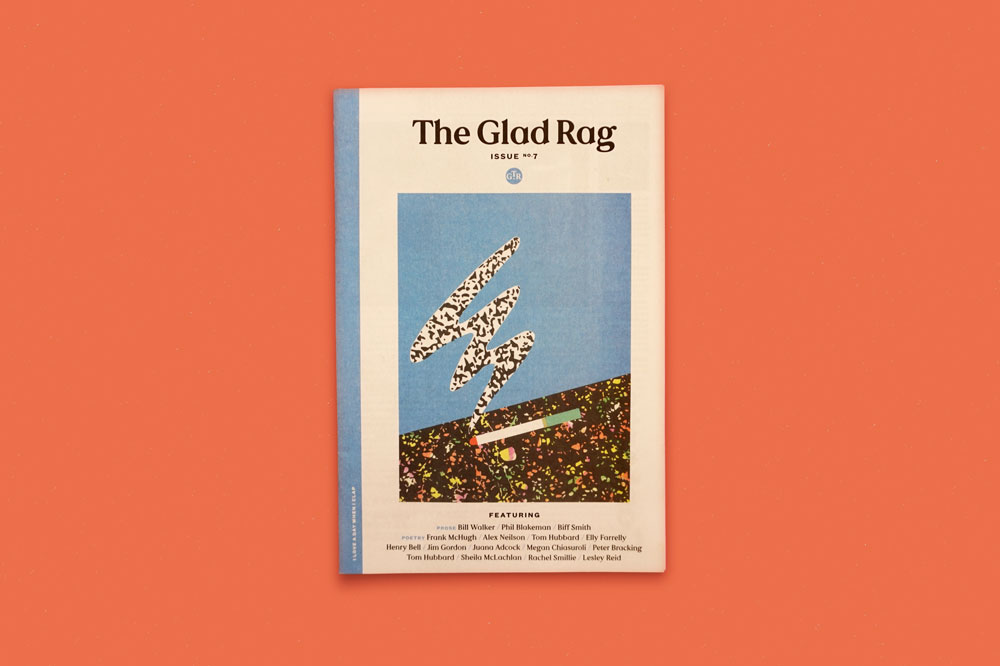 The Glad Rag newspaper for Glad Cafe in Glasgow. See more newspapers we loved this month in our latest print roundup.