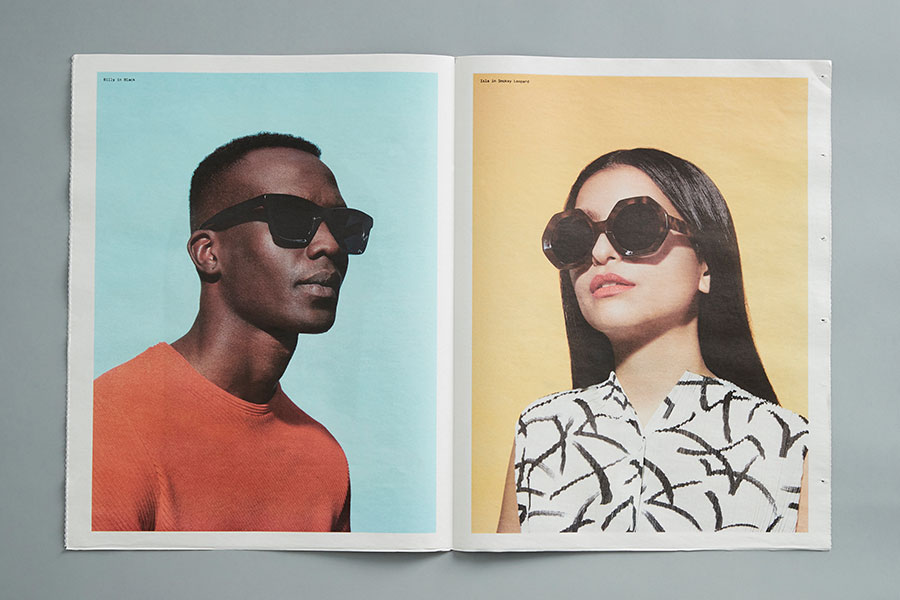 Televisioni newspaper from eyewear brand Bailey Nelson. See more newspapers we loved this month in our latest print roundup.