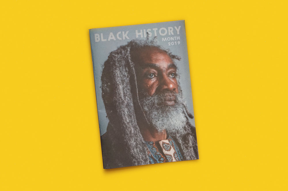 Bristol Black History Month magazine. Printed by Newspaper Club.