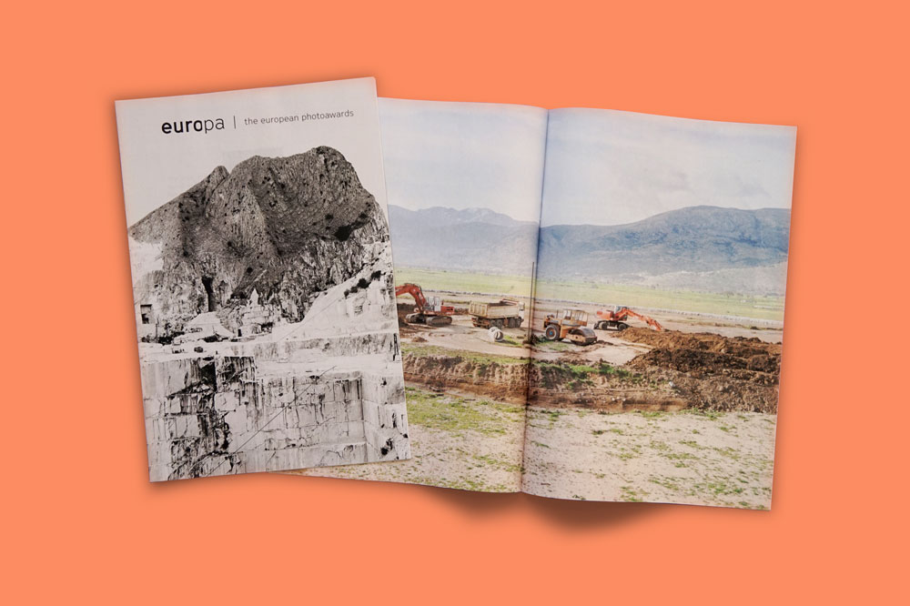Europa Photo Awards zine printed by Newspaper Club