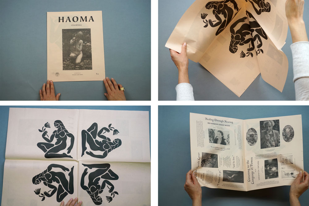 Haoma newspaper one of 19 Newspapers We Loved in 2019 — A Print Roundup from Newspaper Club