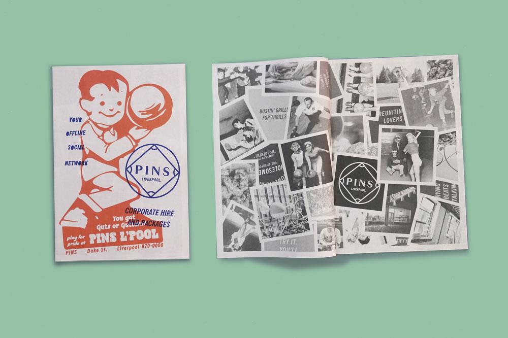 Pins Liverpool newspaper. Printed by Newspaper Club.