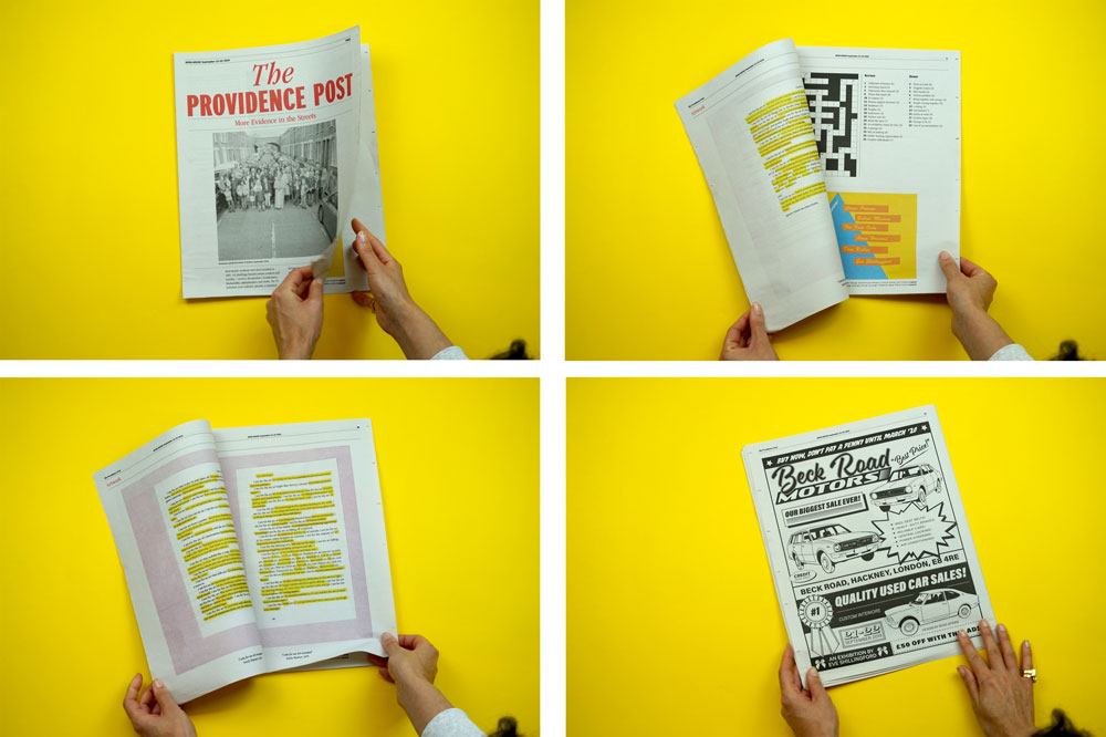 The Providence Post tabloid, Haoma newspaper one of 19 Newspapers We Loved in 2019 — A Print Roundup from Newspaper Club