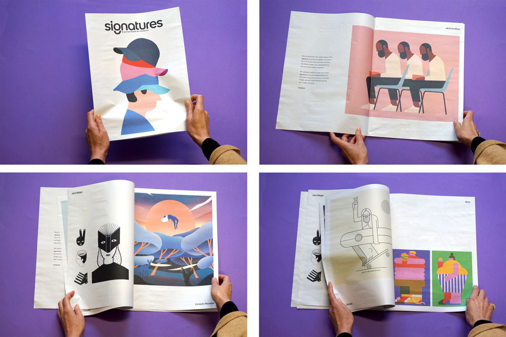 Creasenso newspaper, one of 19 Newspapers We Loved in 2019 — A Print Roundup from Newspaper Club
