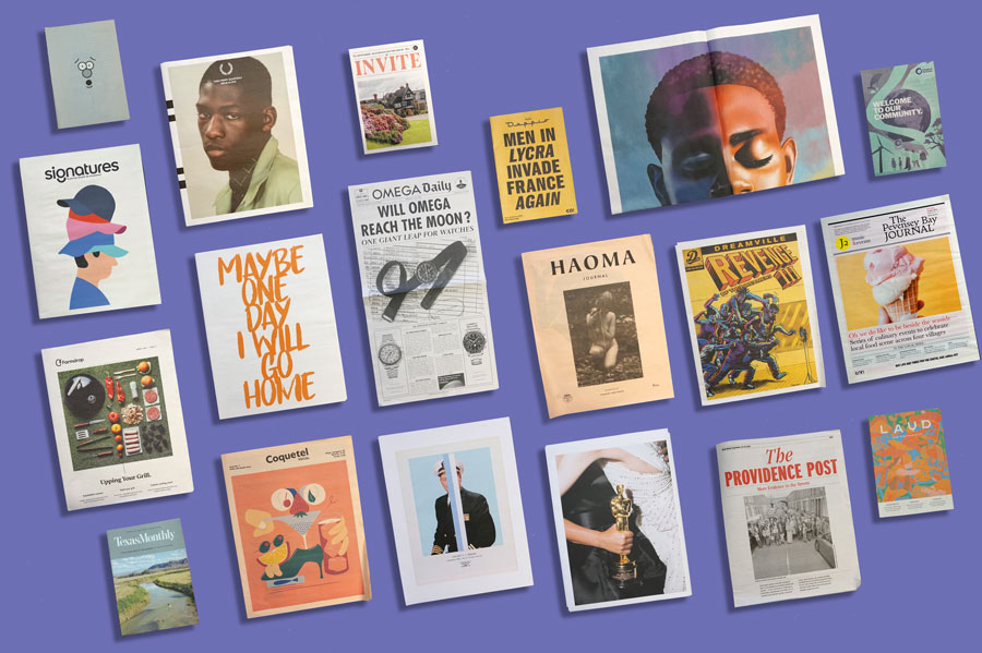 19 Newspapers We Loved in 2019 — A Print Roundup from Newspaper Club