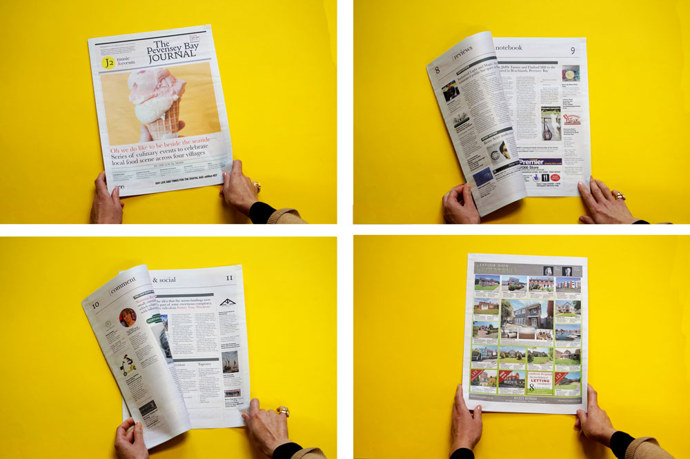 Pevensey Bay Journal, one of 19 Newspapers We Loved in 2019 — A Print Roundup from Newspaper Club