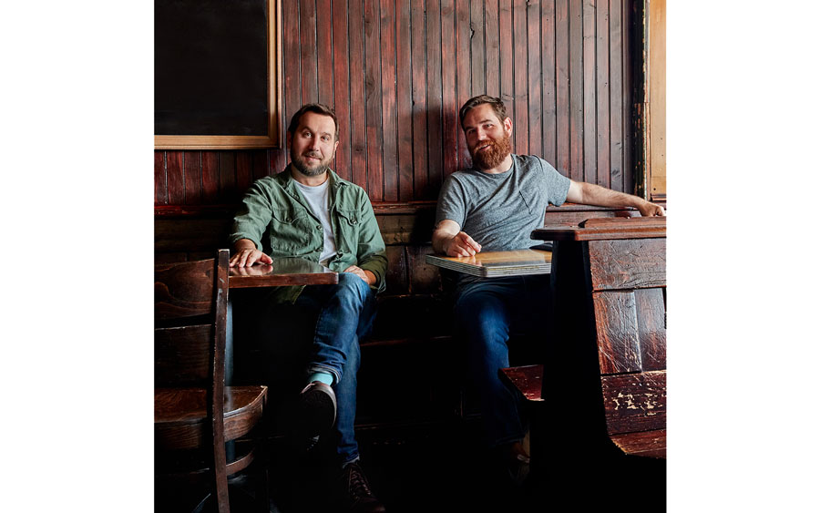 Jason Kernevich and Dustin Summers, founders of design agency The Heads of State