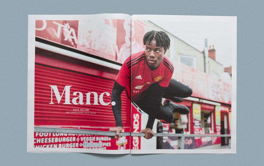 Glory Manchester United photography newspaper by Nick Pecori