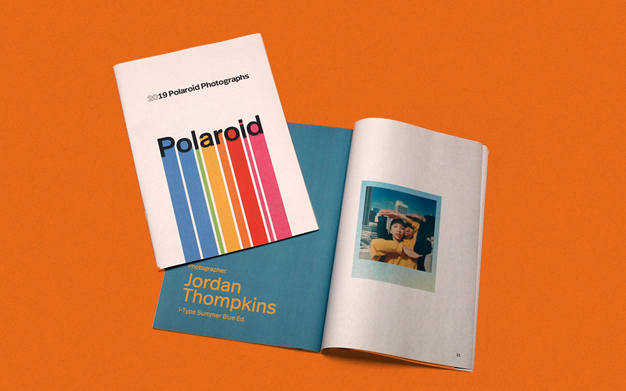 To mark the end of 2019, Polaroid produced an internal magazine featuring instant photos from photographers Brian Bruno, Harriet Browse, Raymond van Mil, Héctor Pozuelo, Katie Silvester and more. Printed as a digital mini with Newspaper Club.